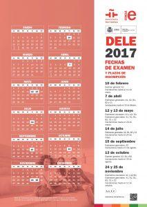 DELE CALENDARIO 2017