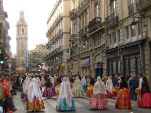 Ofrenda falleras Hispania