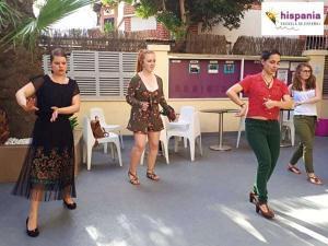 Clases de Flamenco, Hispania, escuela de español
