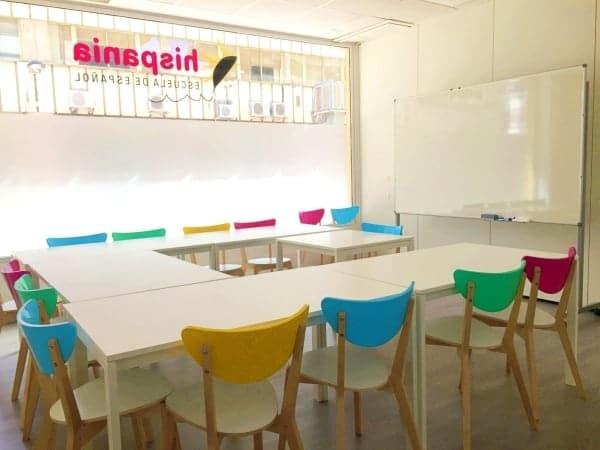 Nuevo aulario Hispania, escuela de español