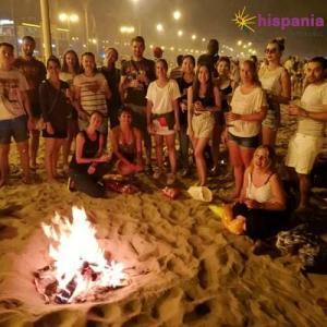 San Juan, Hispania en la playa
