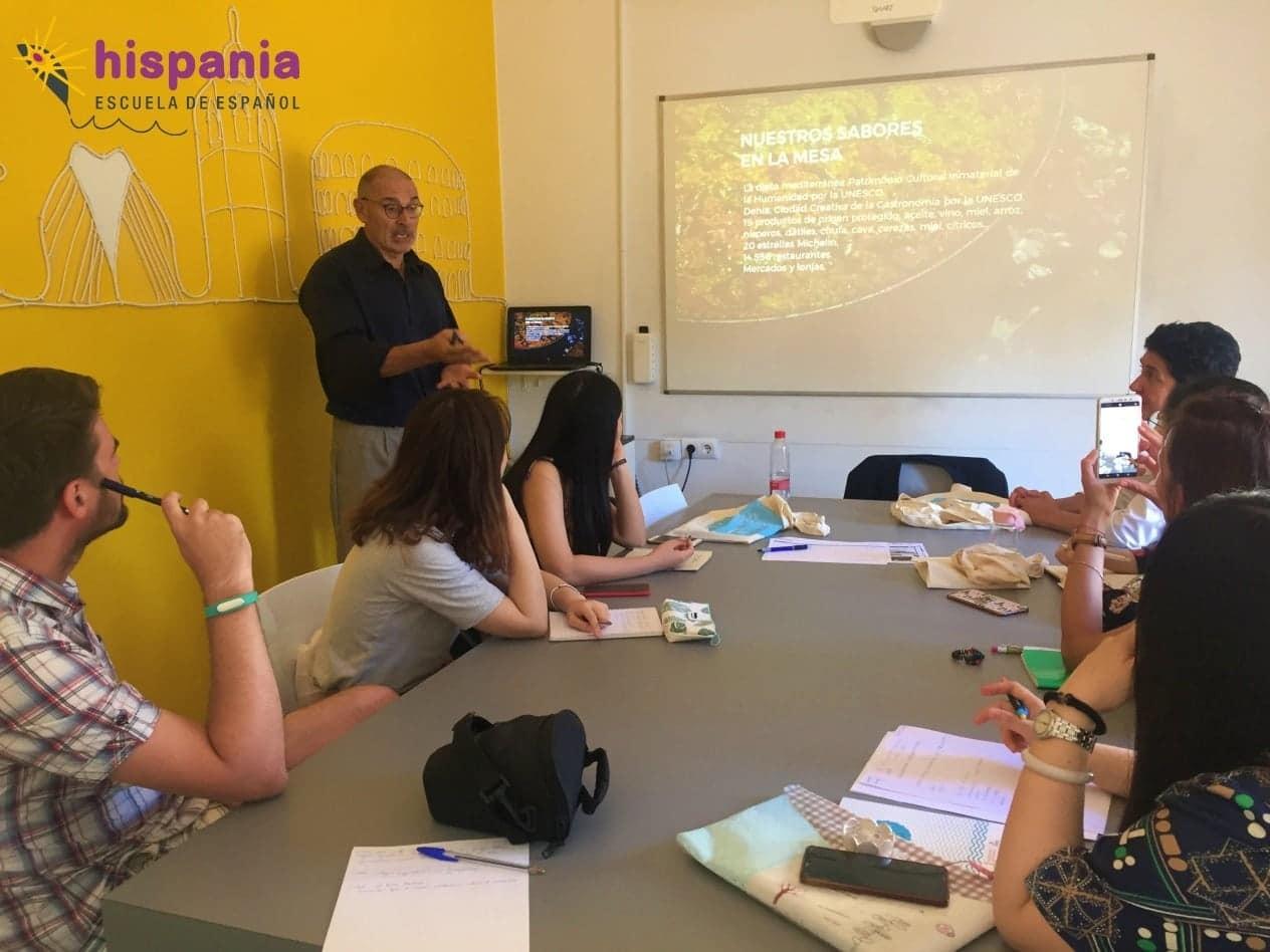 taller sobre turismo y hospitalidad mediterránea