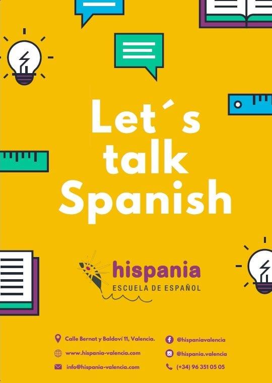 learn Spanish Let's talk Spanish