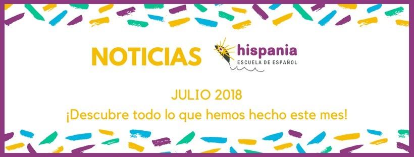 NOTICIAS ESPAÑOL - julio 2018