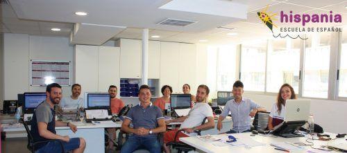 Nuevas Oficinas. Administración, Hispania, escuela de español