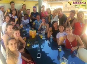 Taller Agua de Valencia Hispania, escuela de español