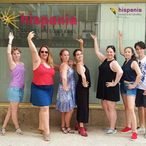 Clases de Flamenco Hispania, escuela de español