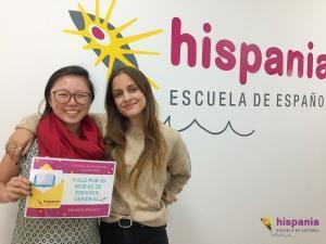 Concurso Microrrelatos Ganadora, Hispania, escuela de español
