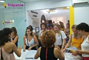 Welcome Tour en Hispania, escuela de español