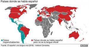paises hispanohablantes