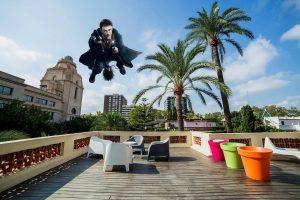 Harry Potter en la terraza de Hispania, escuela de español
