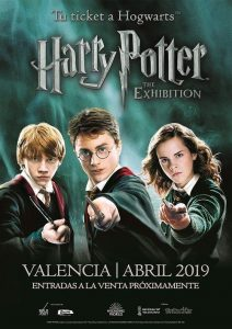 Harry Potter exhibición Valencia abril