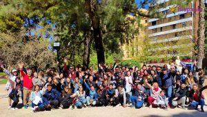 Todos estudiantes Fallas Hispania, escuela de español