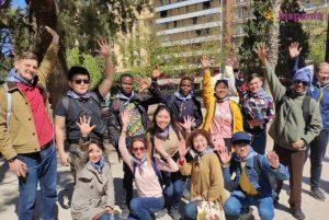 Estudiantes Fallas Hispania escuela de español