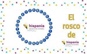 El rosco de Pasapalabra de Hispania, escuela de español
