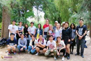 Estudiantes yinkana, Hispania, escuela de español