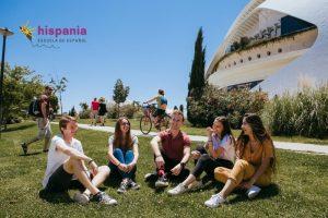 Clima en Valencia, soleado. Hispania, escuela de español 3