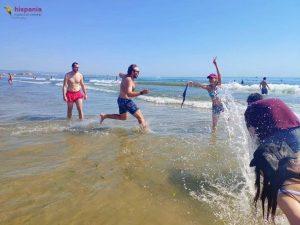 Clase Playa Hispania, escuela de español 3