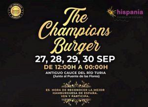 Hispania Champions-Burger
