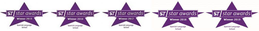 Todas las ST Star Awards Hispania, escuela de español