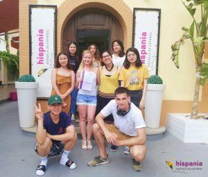 Despedida estudiantes hispania escuela de español 2