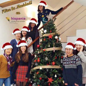 Feliz Navidad en Hispania, escuela de español