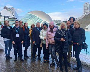 Agentes Hispania visita enero 2020 ciudad de las ciencias