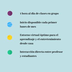 Español para niños, nuevos cursos online de español para niños en la Comunidad Hispania 2