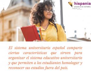 Sistema universitario español