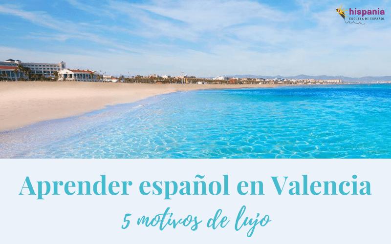Aprender español en Valencia 5 motivos de lujo