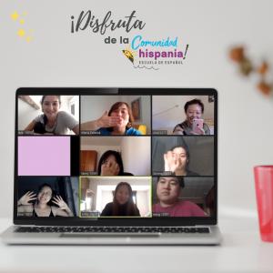 Comunidad Hispania clases de español online