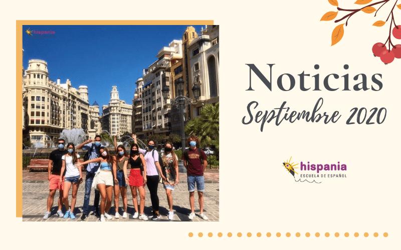 Noticias Hispania Septiembre 2020