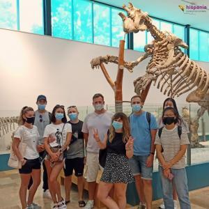 Actividades con mascarilla en Hispania escuela de español