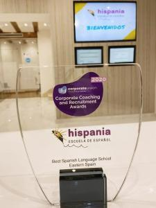 Foto premio Corporate Coaching and Recruitment Award