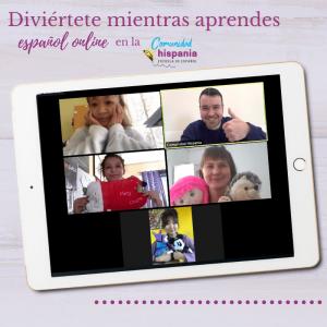 Hispania, escuela de español tablet clases online