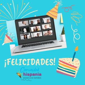 Felicidades Comunidad Hispania