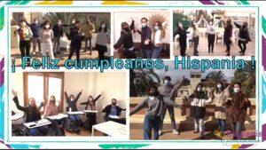 Cumpleaños de Hispania, escuela de español