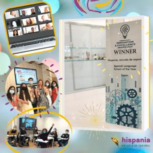 Premio CorporateLiveWire Spanish Language School of the year Spain