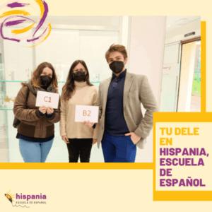 Tu DELE abril en Hispania
