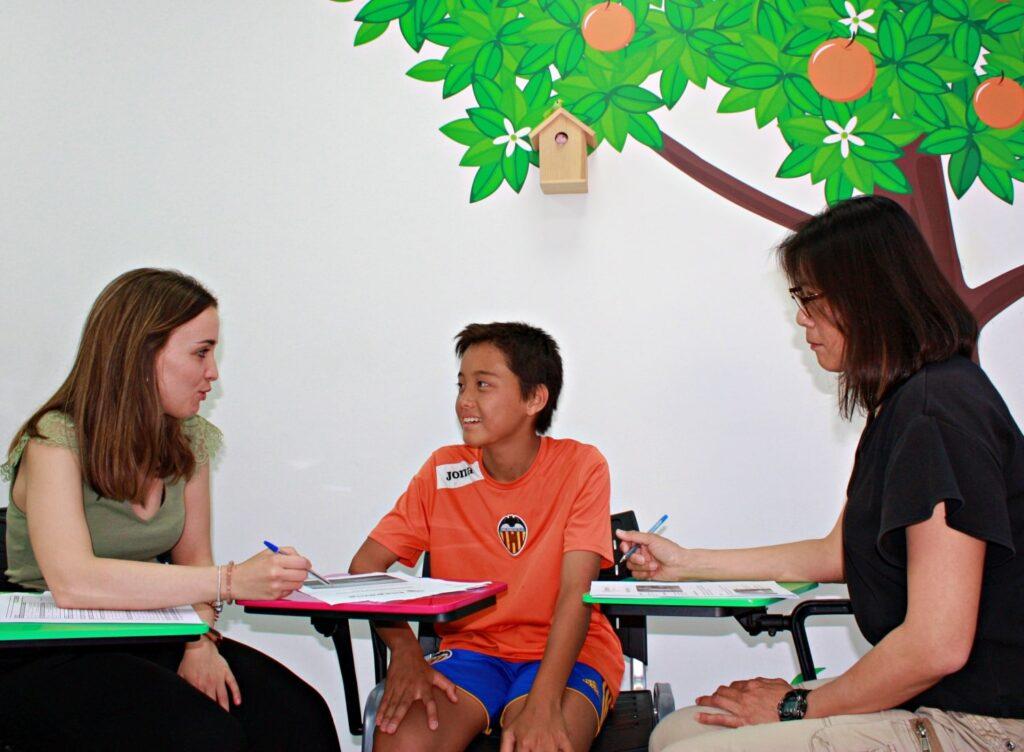 Curso de español para familias
