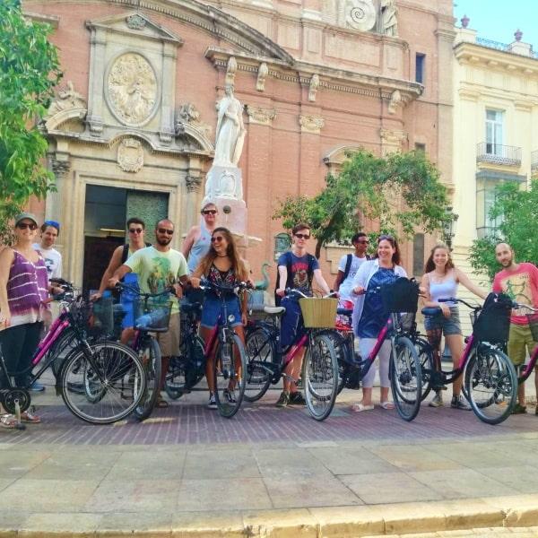 Deportes 2 Recorrido en bicicleta por el Jardín del Turia