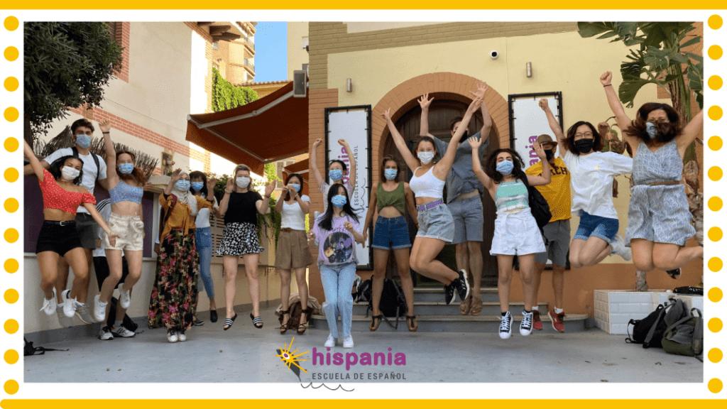 Con el método Hispania, aprende español de una manera feliz 2