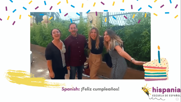 día de las lenguas vídeo Hispania,escuela de español